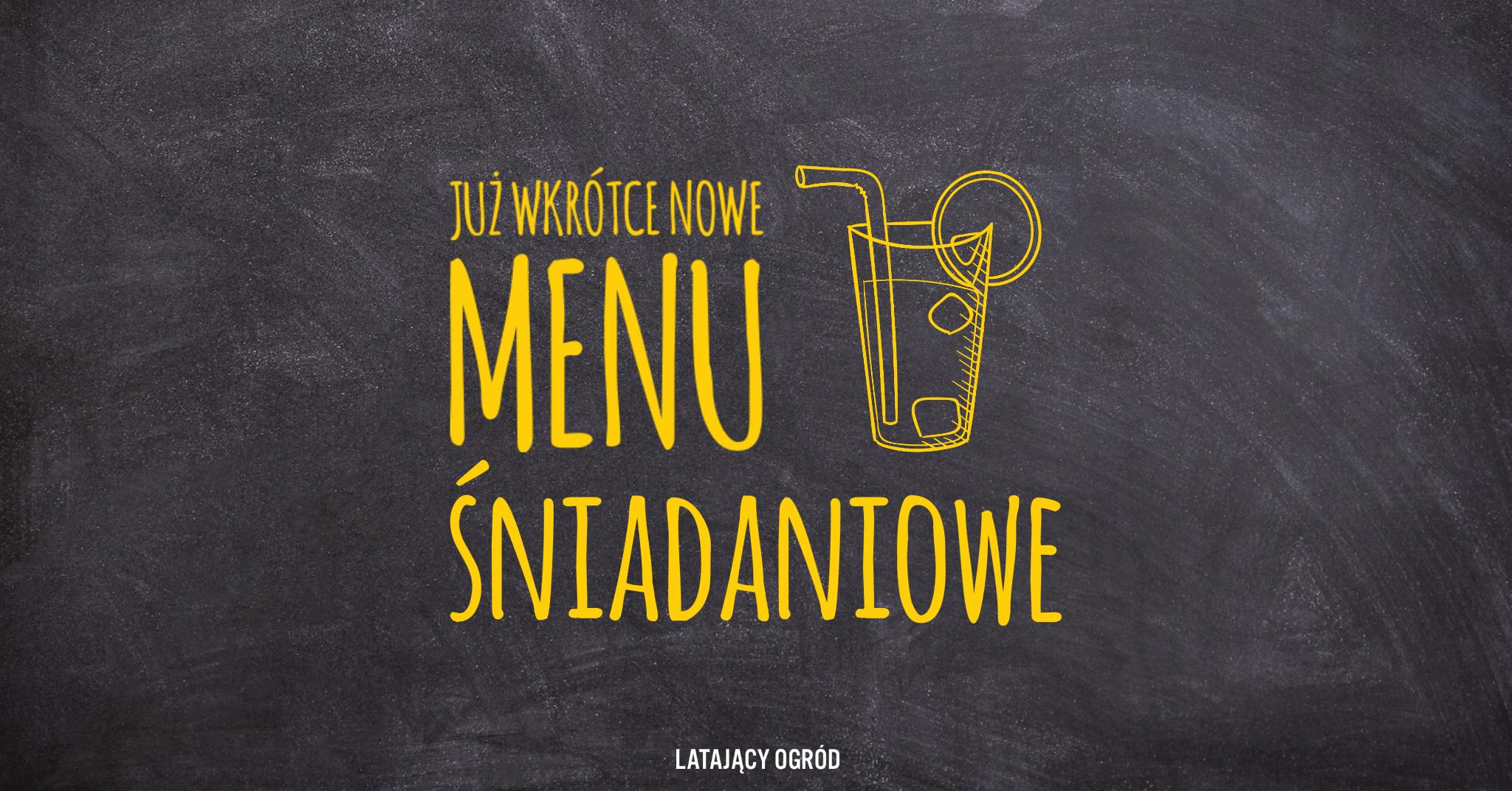 Nowe menu śniadaniowe
