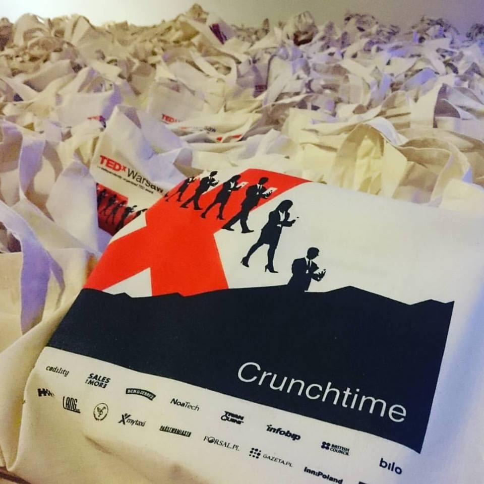 TEDxWarsaw Goodie Bags